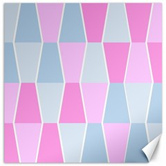 Geometric Pattern Design Pastels Canvas 20  X 20