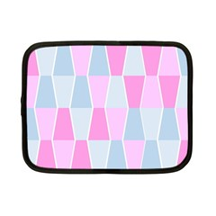 Geometric Pattern Design Pastels Netbook Case (small)
