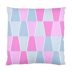 Geometric Pattern Design Pastels Standard Cushion Case (one Side)