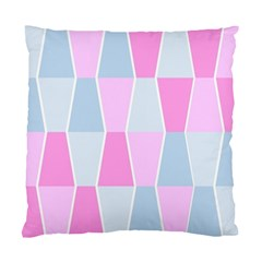 Geometric Pattern Design Pastels Standard Cushion Case (two Sides)