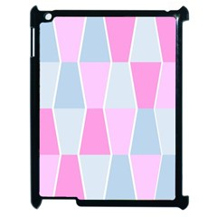 Geometric Pattern Design Pastels Apple Ipad 2 Case (black)