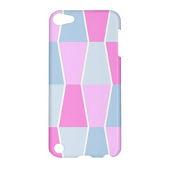 Geometric Pattern Design Pastels Apple Ipod Touch 5 Hardshell Case