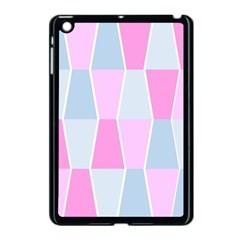 Geometric Pattern Design Pastels Apple Ipad Mini Case (black)