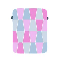 Geometric Pattern Design Pastels Apple Ipad 2/3/4 Protective Soft Cases