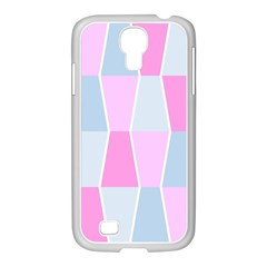 Geometric Pattern Design Pastels Samsung Galaxy S4 I9500/ I9505 Case (white)
