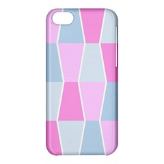 Geometric Pattern Design Pastels Apple Iphone 5c Hardshell Case