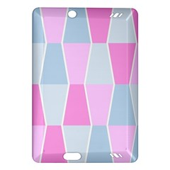 Geometric Pattern Design Pastels Amazon Kindle Fire Hd (2013) Hardshell Case by Nexatart
