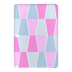 Geometric Pattern Design Pastels Samsung Galaxy Tab Pro 12 2 Hardshell Case