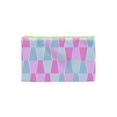 Geometric Pattern Design Pastels Cosmetic Bag (xs)