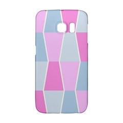 Geometric Pattern Design Pastels Galaxy S6 Edge