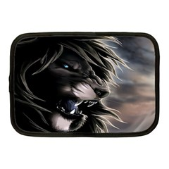 Angry Lion Digital Art Hd Netbook Case (medium)