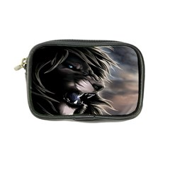Angry Lion Digital Art Hd Coin Purse