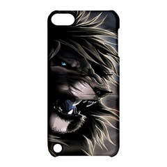 Angry Lion Digital Art Hd Apple Ipod Touch 5 Hardshell Case With Stand
