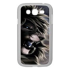 Angry Lion Digital Art Hd Samsung Galaxy Grand Duos I9082 Case (white)