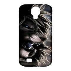 Angry Lion Digital Art Hd Samsung Galaxy S4 Classic Hardshell Case (pc+silicone)