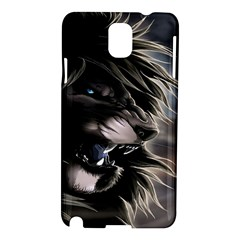 Angry Lion Digital Art Hd Samsung Galaxy Note 3 N9005 Hardshell Case