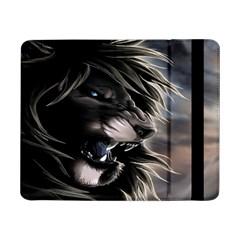 Angry Lion Digital Art Hd Samsung Galaxy Tab Pro 8 4  Flip Case
