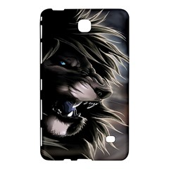 Angry Lion Digital Art Hd Samsung Galaxy Tab 4 (8 ) Hardshell Case