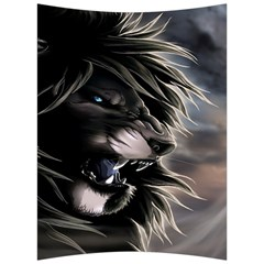 Angry Lion Digital Art Hd Back Support Cushion