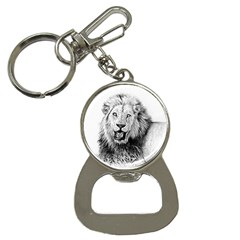 Lion Wildlife Art And Illustration Pencil Button Necklaces