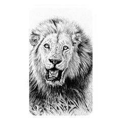 Lion Wildlife Art And Illustration Pencil Memory Card Reader by Nexatart