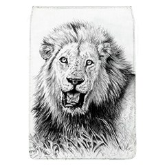 Lion Wildlife Art And Illustration Pencil Flap Covers (l)