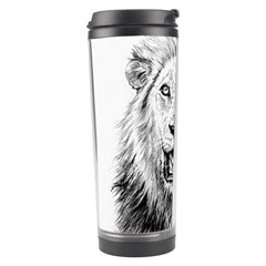 Lion Wildlife Art And Illustration Pencil Travel Tumbler
