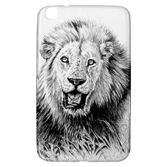 Lion Wildlife Art And Illustration Pencil Samsung Galaxy Tab 3 (8 ) T3100 Hardshell Case