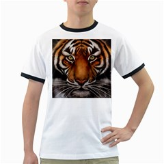 The Tiger Face Ringer T Shirts