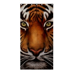 The Tiger Face Shower Curtain 36  X 72  (stall)