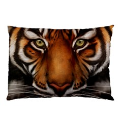 The Tiger Face Pillow Case (two Sides)