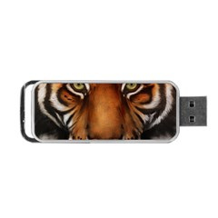 The Tiger Face Portable Usb Flash (two Sides)