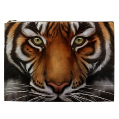 The Tiger Face Cosmetic Bag (xxl)