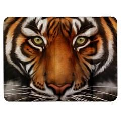 The Tiger Face Samsung Galaxy Tab 7  P1000 Flip Case