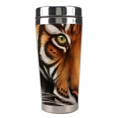 The Tiger Face Stainless Steel Travel Tumblers