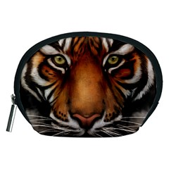 The Tiger Face Accessory Pouches (medium)