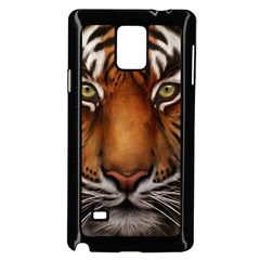 The Tiger Face Samsung Galaxy Note 4 Case (black)