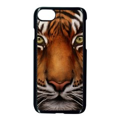 The Tiger Face Apple Iphone 7 Seamless Case (black)