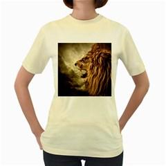 Roaring Lion Women s Yellow T Shirt