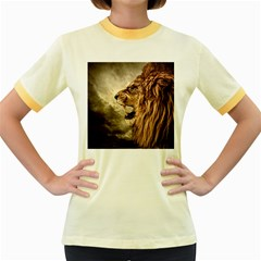 Roaring Lion Women s Fitted Ringer T Shirts