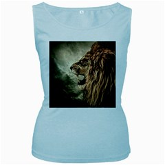Roaring Lion Women s Baby Blue Tank Top