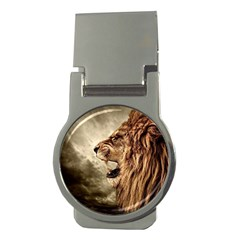 Roaring Lion Money Clips (round)