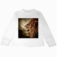 Roaring Lion Kids Long Sleeve T Shirts