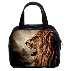 Roaring Lion Classic Handbags (2 Sides) by Nexatart