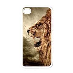 Roaring Lion Apple Iphone 4 Case (white)