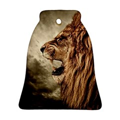 Roaring Lion Bell Ornament (two Sides)