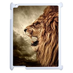Roaring Lion Apple Ipad 2 Case (white)