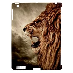 Roaring Lion Apple Ipad 3/4 Hardshell Case (compatible With Smart Cover)