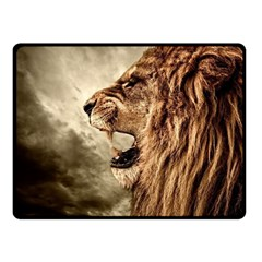 Roaring Lion Double Sided Fleece Blanket (small)