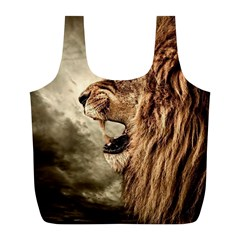 Roaring Lion Full Print Recycle Bags (l)